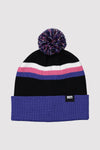Pom-Pom Beanie - Ultra Blue / Black