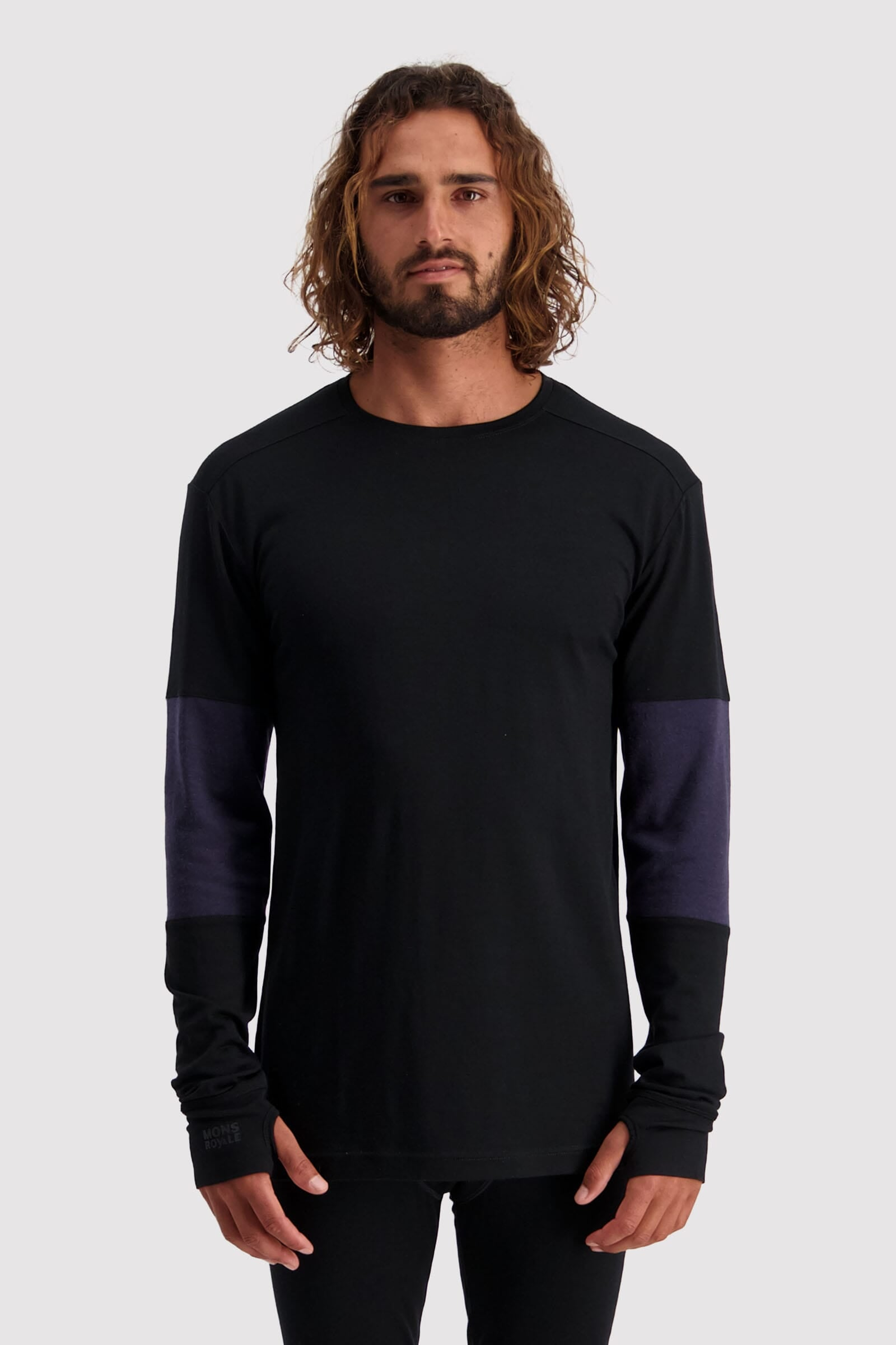 Alta Tech LS Crew - Black / 9 Iron