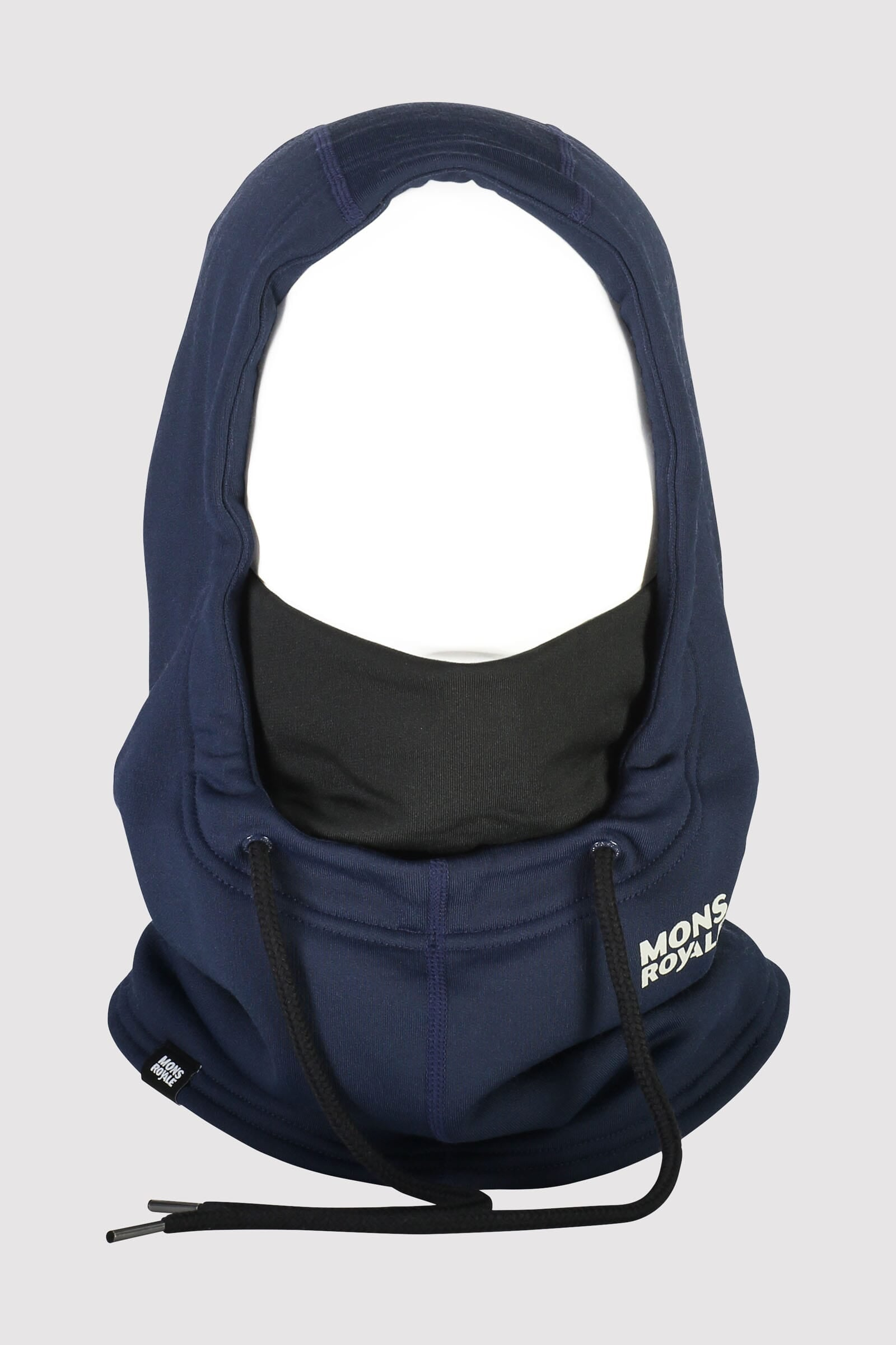 Decade Wool Fleece Hood - Navy