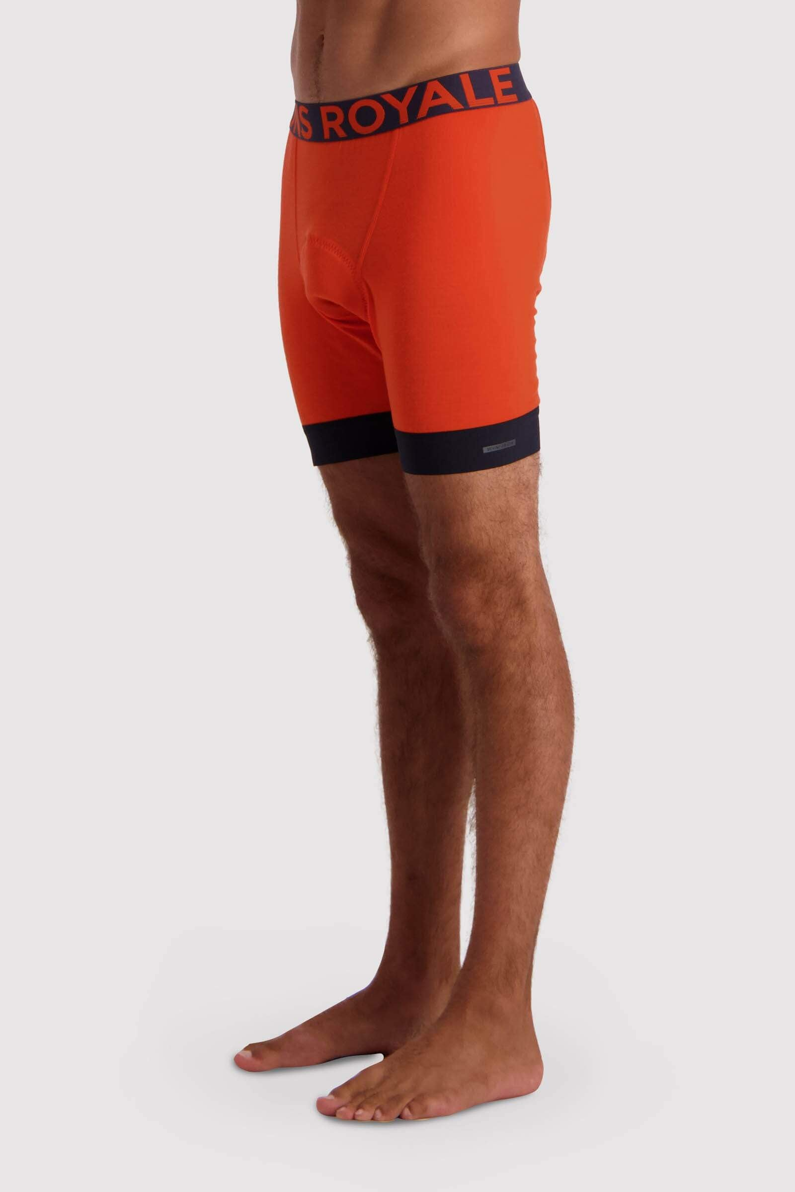 Enduro Bike Short Liner - Orange Smash