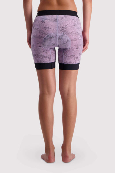 Enduro Bike Short Liner - Lilac Micro