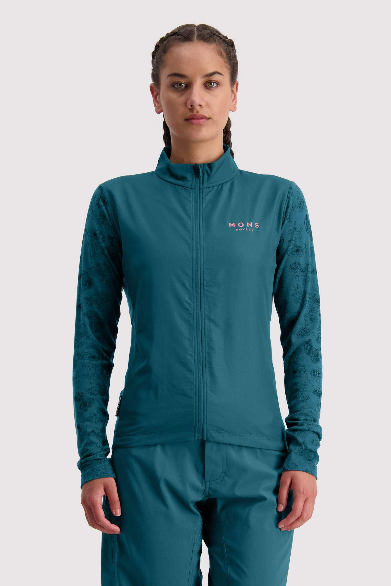 Redwood Wind Jersey - Deep Teal