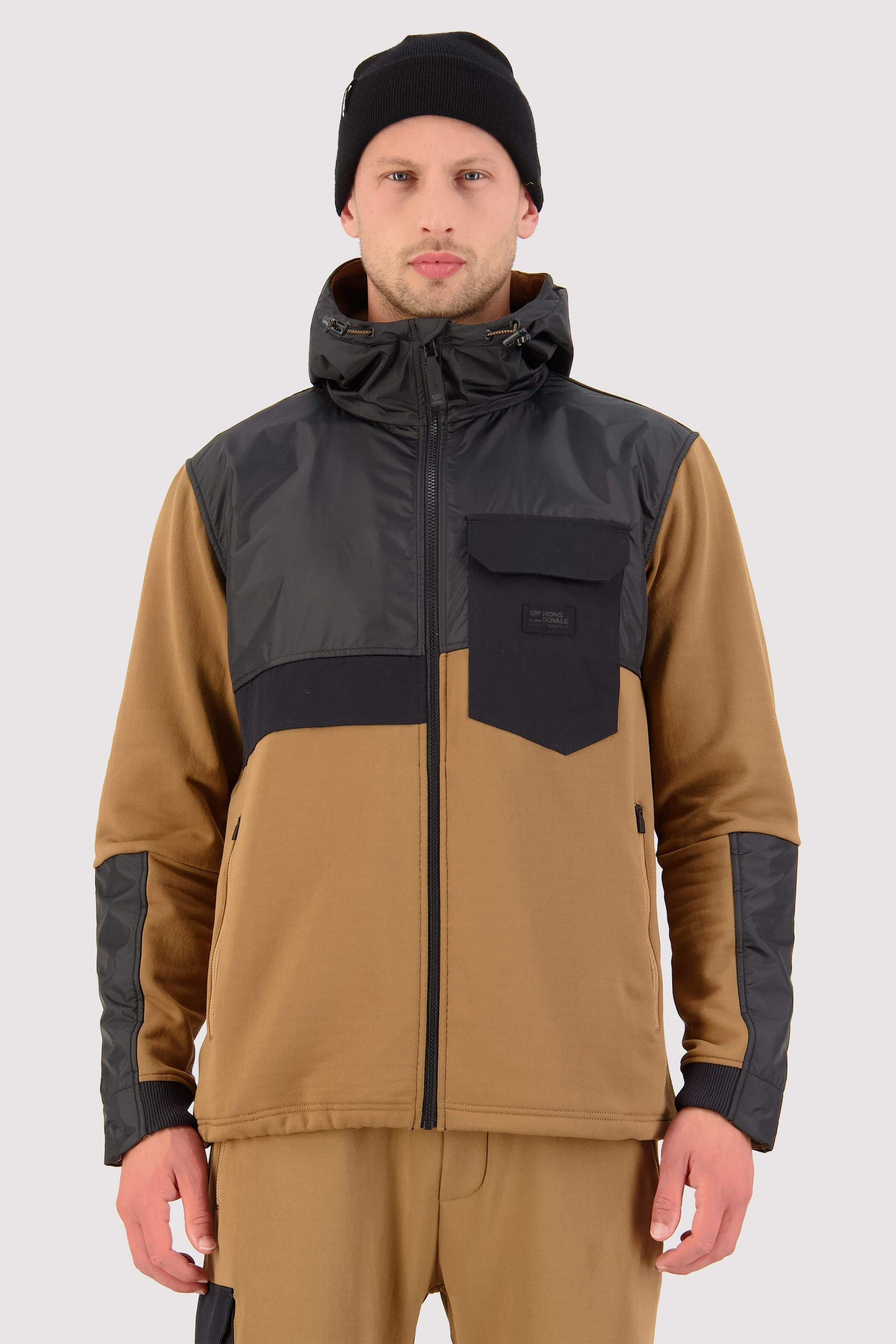 Decade Mid Hoody - Toffee