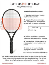 Load image into Gallery viewer, Tennis Racket Frame Protection- Adult Frame