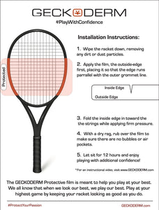 Tennis Racket Frame Protection- Adult Frame