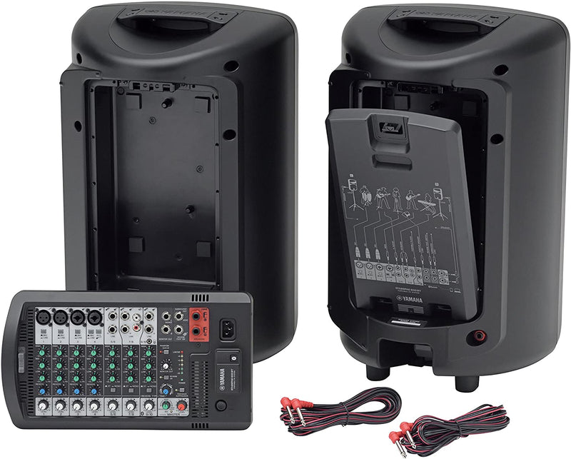 Yamaha StagePas 600BT Portable PA with Bluetooth