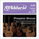 D'Addario EJ26 Phosphor Bronze 11-52 Acoustic Guitar String
