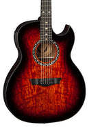 Dean Exhibition Quilt Ash A/E w Aphex TGE Acoustic Electric Guitar