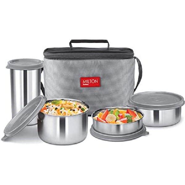 Milton Delicious Combo Steel Insulated Tiffin