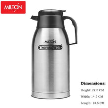 Load image into Gallery viewer, Milton Thermosteel Carafe Flask (2000ml)