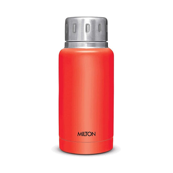Milton Elfin Stainless Steel Flask, 160 ml (Red)