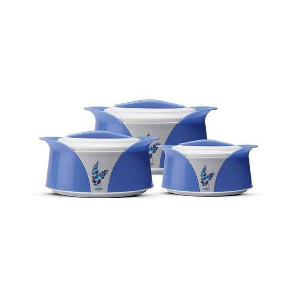 Milton Imperial Junior 3 Pieces Assorted Casserole (Blue)