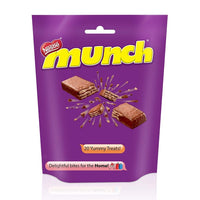 Nestle Munch Chocolate Coated Crunchy Wafer - saagbazaronline.myshopify.com