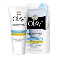 Olay Natural White 7 IN ONE Instant Glowing Fairness with UV Protection - saagbazaronline.myshopify.com