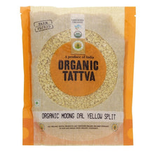 Load image into Gallery viewer, Organic Tattva Split Yellow Moong Dal - saagbazaronline.myshopify.com
