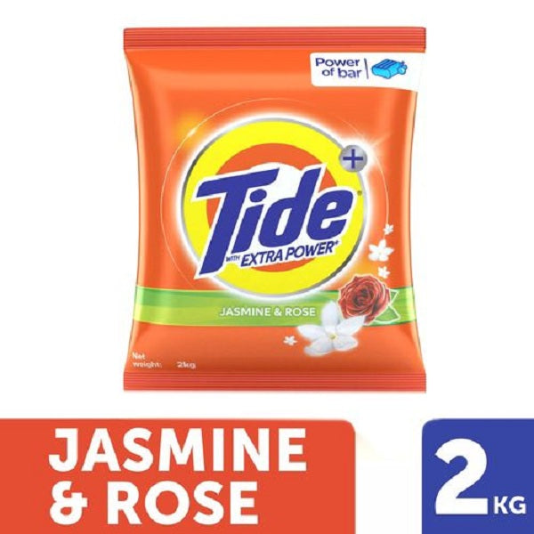 Tide Plus Detergent Washing Powder - Extra Power Jasmine & Rose - saagbazaronline.myshopify.com