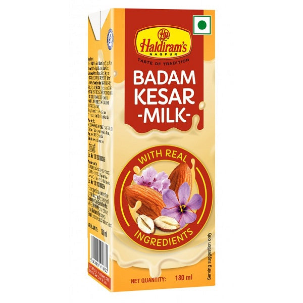 Haldiram's Badam Kesar Milk-Party Pack (Pack Of 15)