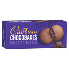 Load image into Gallery viewer, Cadbury Biscuits Chocobakes Choc Filled Cookies, 75g - Pack of 10