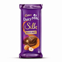 Load image into Gallery viewer, Cadbury Dairy Milk Silk Hazelnut Chocolate Bar 143 g (Pack of 3)