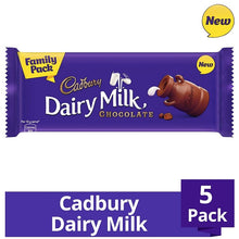 Load image into Gallery viewer, Cadbury Dairy Milk Chocolate Bar (Pack of 5)