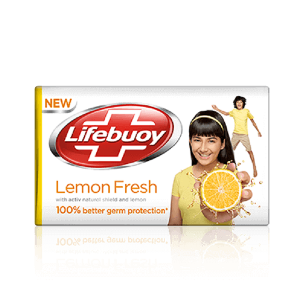 Lifebuoy Lemon Fresh Soap Bar Pack of 4 - saagbazaronline.myshopify.com