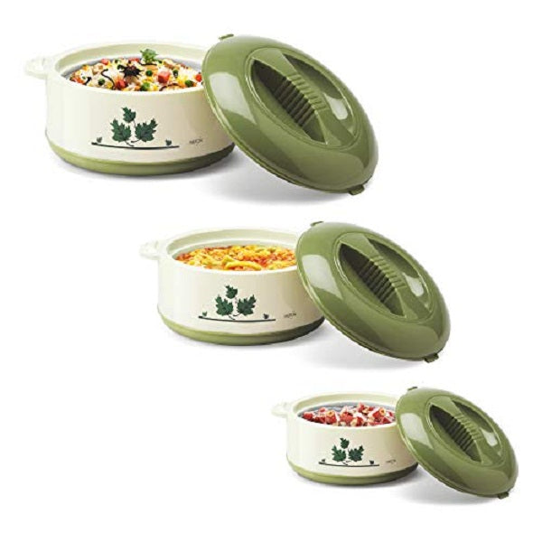 Milton Orchid Jr. Inner Steel Casserole Gift Set of 3