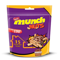 Nestlé Munch Nuts Chocolate Coated Crunchy Wafer, Home Pack - saagbazaronline.myshopify.com
