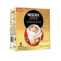 Nescafe Gold Cappuccino Instant Coffee Sachets (17 g)- Pack of 10 - saagbazaronline.myshopify.com