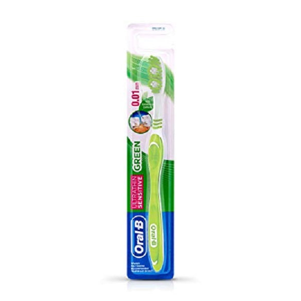 Oral-B Ultrathin Sensitive Green Manual Toothbrush - saagbazaronline.myshopify.com