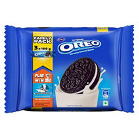 Cadbury Oreo Vanilla Cream Biscuit Family Pack (Pack of 4)