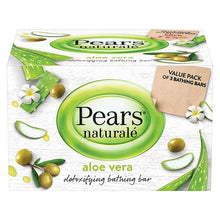 Load image into Gallery viewer, Pears Naturale Aloe Vera Detoxifying Soap Bar - saagbazaronline.myshopify.com