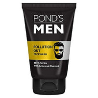 Ponds Men Pollution Out Activated Charcoal Deep Clean Face Wash - saagbazaronline.myshopify.com