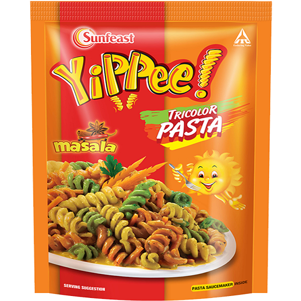 Sunfeast Yippee Tricolor Masala Pasta - HomeTopUp