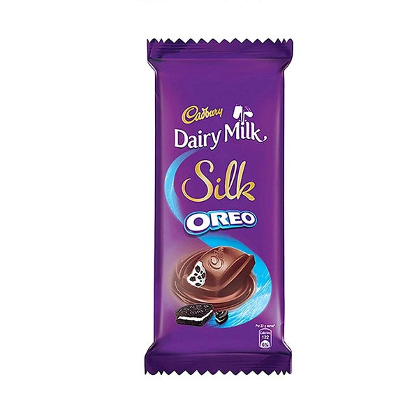 Cadbury Dairy Milk Silk Oreo Chocolate Bar, 5 x 60 g