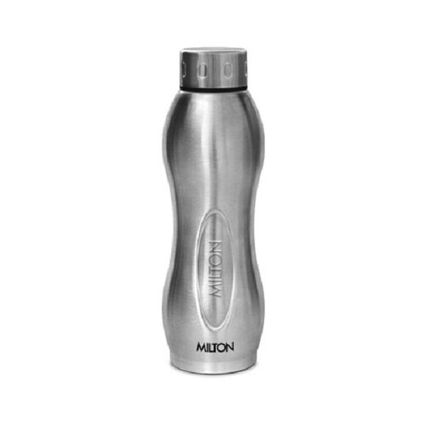 Milton Steel I GO DELUXE Steel/Chrome Water Bottle