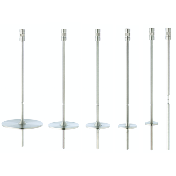 HV Spindles - 316 Stainless Steel