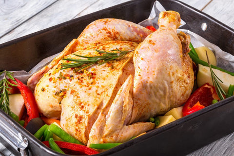 Seasoned whole bird chicken online delivery brisbane triple c poultry