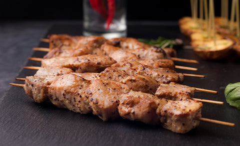 Hand Skewered Kebabs 130g