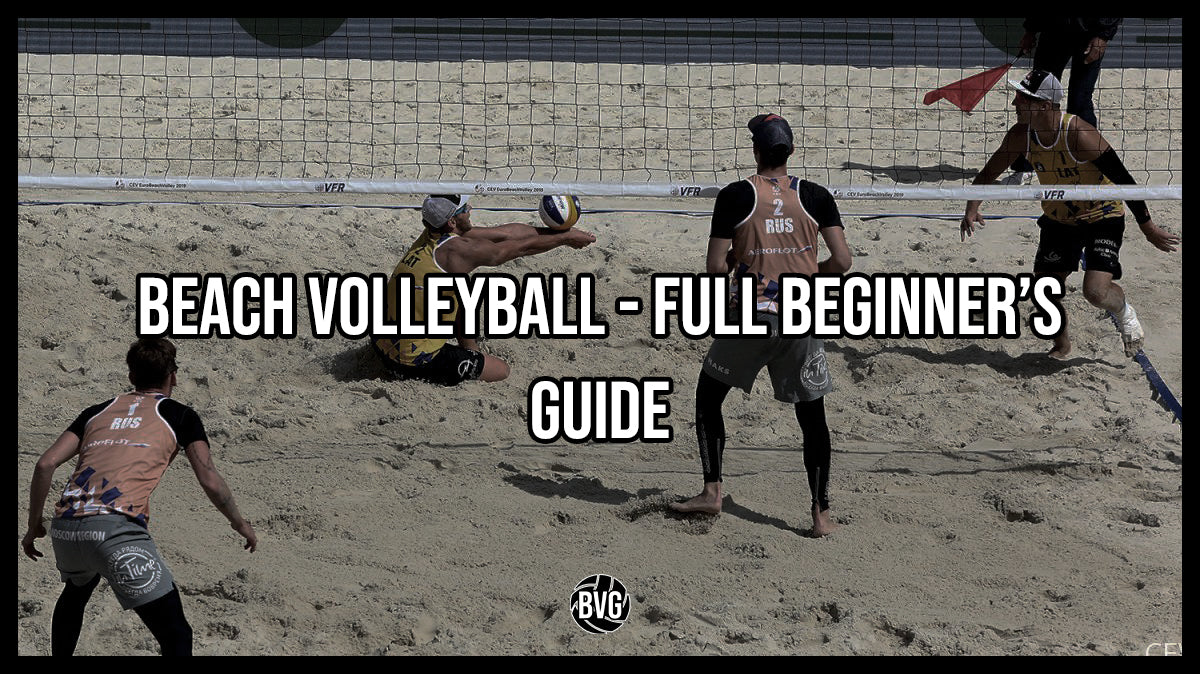 Beach Volleyball - Full Beginner's Guide