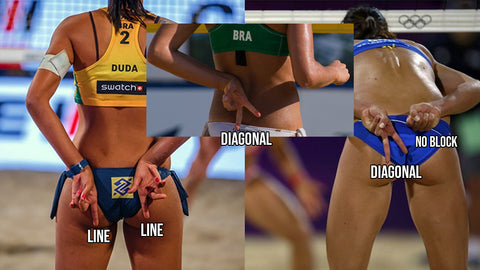 Beach Volleyball Blocking Signs