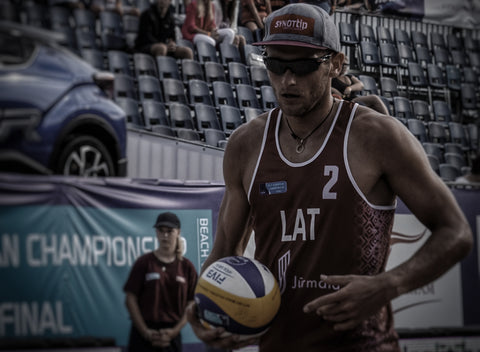 Beach Volleyball player Edgars Tocs