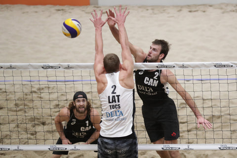 Beach Volleyball Blocking