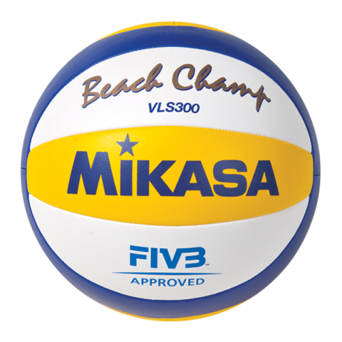 The Mikasa VLS300 Official Beach Volleyball