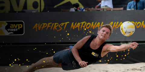 AVP First image beach volleyball player