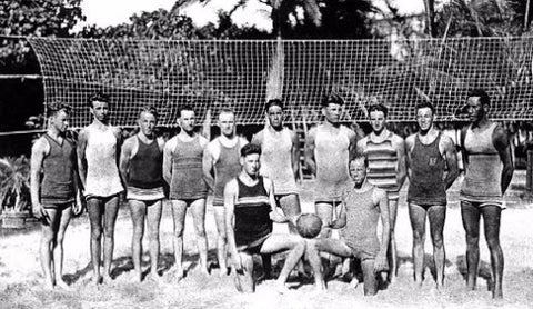 Beach Volleyball history Rigger Canoe Club