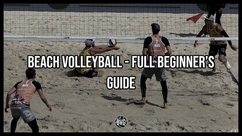 Beginner Beach Volleyball Guide Cover Image