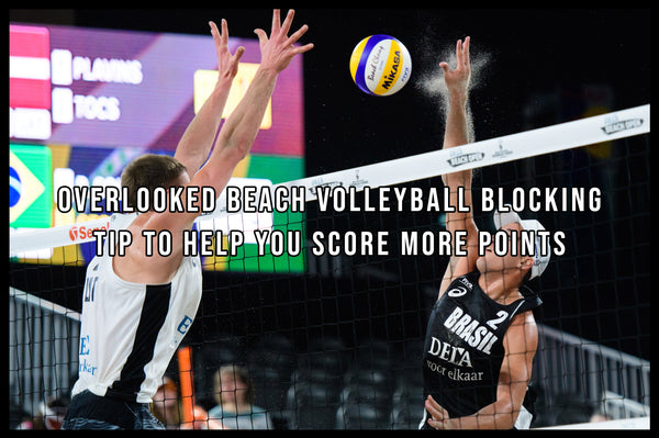 Beach Volleyball Blocking Tip Cover