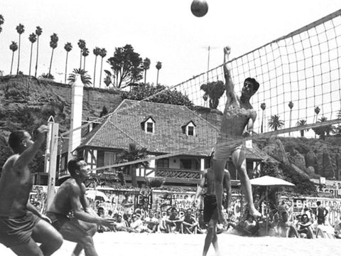 Beach Volleyball History Game