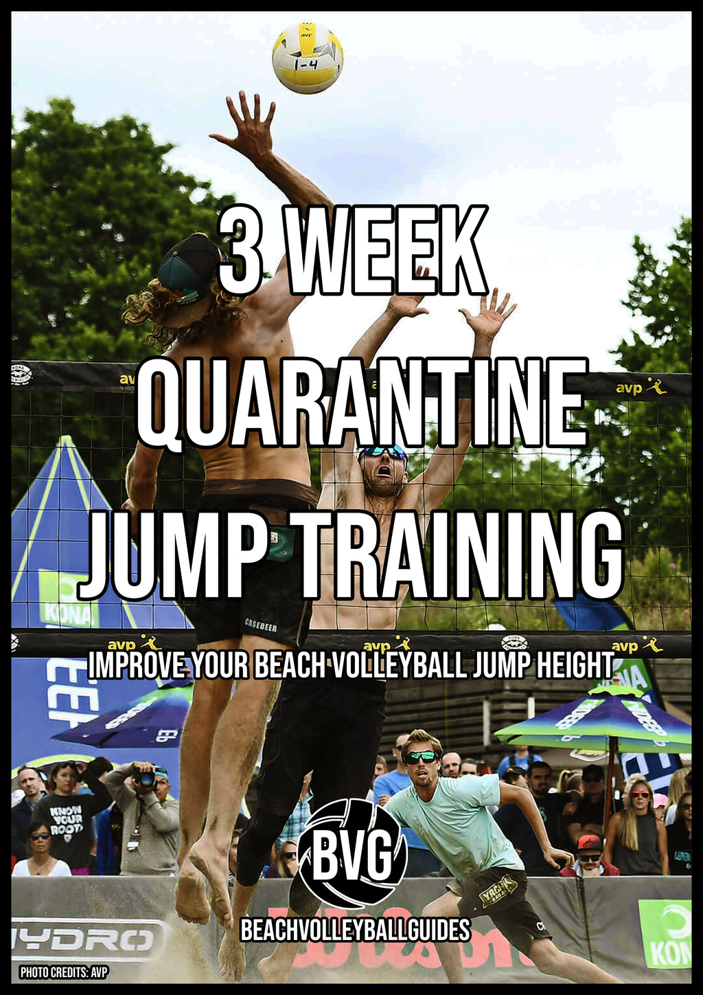3 Week Quarantine Beach Volleyball Jump training guide