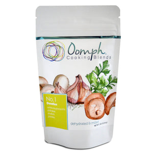 Oomph cooking blend, blend, mushroom powder, big flavor and nutrition in a pinch, duxelles,